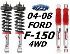 Rancho Front Quicklift Struts & RS9000XL Rear Shocks For 04-08 Ford F-150 4WD