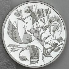 2013 $20 Carlito Dalceggio Canadian Contemporary Art 1 oz Pure Silver Proof Coin