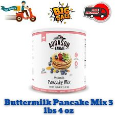 Augason Farms Buttermilk Pancake Mix Survival Emergency Food Storage 3 lbs 4 oz