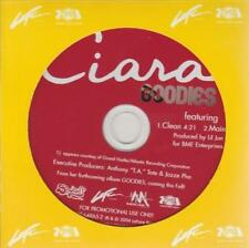 Ciara: Goodies PROMO w/ Artwork MUSIC AUDIO CD T.I. 2tk Clean Main Lil Jon 64865