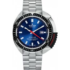 Edox Hydro Sub Swiss Automatic Watch 80301 3NM BUIN