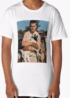 TOM BRADY WITH A GOAT NEW ENGLAND PATRIOTS #12 FUNNY AF RARE SUPER BOWL T-SHIRT