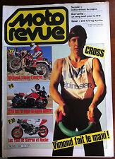 MOTO REVUE N°2692 du 2/1985; Michaud/ Vimond/ Kawa 600 R/ 250 Tuareg Aprilia