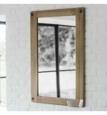 Rustic Timber Look Rectangle Mirror 70cmWx100cmH