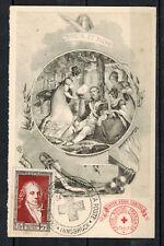 1951- FDC CP 1°JOUR - CROIX-ROUGE & LA POSTE- INNSBRUCK - TIMBRE Yt.895 -Réf.C46