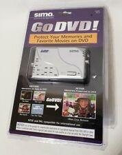 Sima CT-2 Digital Video Enhancer & Duplicator Go DVD Transfer Brand New & Sealed
