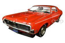 1969 MERCURY COUGAR ELIMINATOR ORANGE BOSS ENGINES ANNIV. 1/18 AUTOWORLD AMM1183