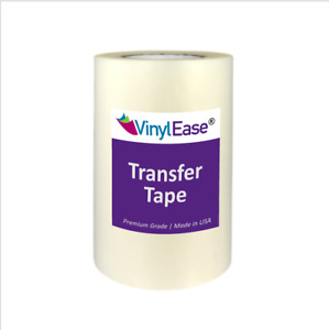 CLEAR HIGH TACK Transfer Tape for Sign Craft Vinyl in Various Sizes and Widths