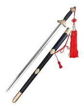 """37 3/7"""" Chinese Martial Arts Long Qing SparkFoam Sword with Scabbard"""