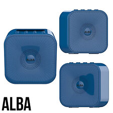 Bluetooth DAB/FM Radio Alba Fun Long Lasting Battery Dual Alarm Auto Tune Blue