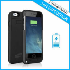 iPhone 5 5S SE 6 6S 7 8 Plus Power Bank Case Etui Coque Battery Charger Chargeur