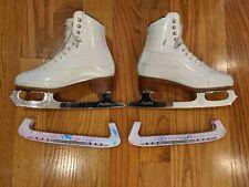 Riedell Figure Skate 229 Edge Size 4 + Ace Coronation Blades