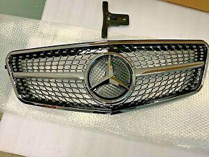 Mercedes Benz W212 E Class 2009-2012 Diamond Grille