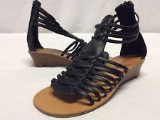 Zigi Soho OLYA Women's Wedge Sandals, Black, Size 5.5 M...SANDS 3