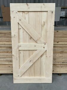 RUSTIC BARN STYLE COTTAGE DOORS - SLIDING DOORS - HINGED - MADE TO MEASURE SOLID