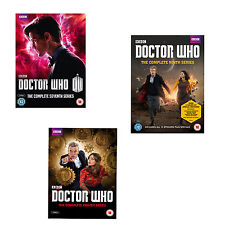 Doctor Who Complete Seasons Series 7, 8 & 9 DVD New