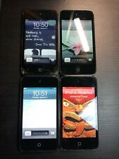4 Untested Apple iPod Touch A1367 4th Gen Mp3 Players for Parts Free Shipping