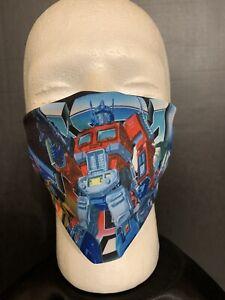 Transformers , Sublimation Face Mask . Reversible & Washable.