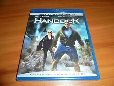 Hancock (Blu-ray Disc, 2008, 2-Disc Set,Unrated Special Edition) Will Smith Used