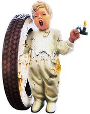 Fisk Tire Boy Cut Out Sign 18x23.5