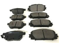 FOR LEXUS CT200h 1.8 HYBRID FRONT AND REAR BRAKE PADS 2010 TO 2018 TOP QUALITY
