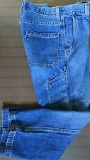 Levi's Silvertab Carpenter Jeans Mens Size 31 X 30 Medium Wash Zip Fly Denim