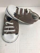 GoldBug Infant Toddler Brown Tennis Shoes Size 2~