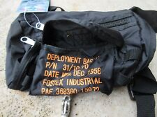Us army para paratrooper saddle bag-bag coyote springer combat black (black) #