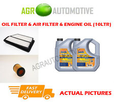 DIESEL OIL AIR FILTER KIT + LL 5W30 OIL FOR HONDA CIVIC 2.2 140 BHP 2005-12