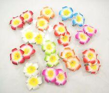 24 PCs Hawaiian Flower hair clip- Flower Hair Accessory for Party Set *US SELLER