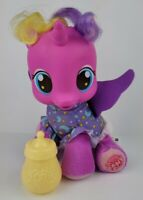 My Little Pony Ponies MLP G4 2012 Talking Princess Skyla Plush Yellow Bottle