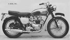 TriumphT120 Bonneville 1960 – US version factory image 2 – motorcycle photo