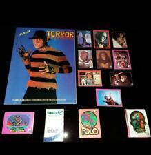 Peru 1996 Navarrete Album of Terror cOMPLETE  SET MORE EMPTY  ALBUMS