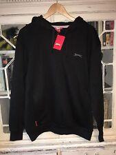 BNWT Men's Puma Slazenger Black Hoodie Jumper Size Large