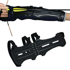 Hunting Archery Target Armguard Shooting Gear Arm Guard Supplies Protect 4 Strap