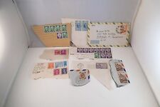 Vintage Mixed Lot of Postage Stamps Usa Liberty Brazil France Germany China