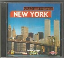 CITTA' DEL MONDO  NEW YORK DE AGOSTINI MULTIMEDIA CD ROM 2000