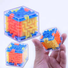 Rolling Toy Game  Puzzle Maze Ball Plastic  Labyrinth Rolling Magic Cube