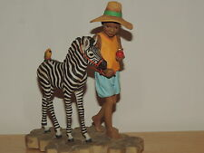 "Thomas Blackshear's Ebony Visions Jamboree Parade ""Jack and Zack"" Figurine NIB"