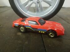 Hot Wheels Mainline Camaro Z-28 Red 1986