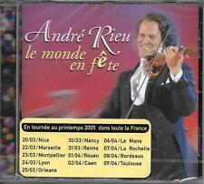 CD 18 TITRES ANDRÉ RIEU LE MONDE EN FÊTE DE 2004 NEUF SCELLE FRENCH STICK