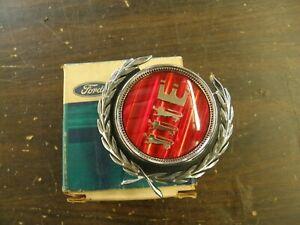 NOS OEM Ford 1972 Torino Grille Emblem Ornament Trim + Ranchero