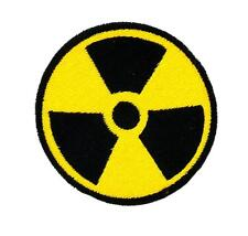 Ecusson brodé thermocollant patch  nucleaire radioactif radioactivité nuclear