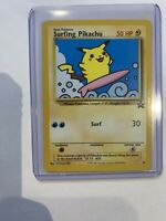 surfing pikachu Black Star promo Wotc 1999 NM Psa9?10?