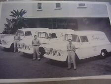 1956 CHEVROLET PANEL TRUCK FLEET FLOWER SHOP   12 X 18  PHOTO  PICTURE