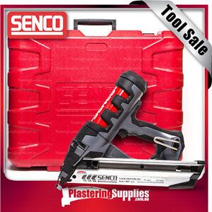 Senco Nail Gun Fusion Cordless Pneumatic BARE TOOL FN65DA & FREE CASE