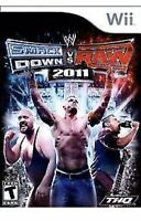 Wwe Smackdown Vs. Raw 2011 Nintendo WII Sports Game Wrestling T-kids