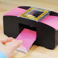 Poker Card Shuffler Automatic Shuffling Machine Casino 2 Deck for Card Game
