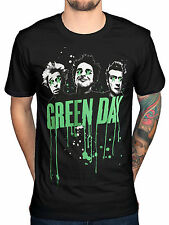 Official Green Day Band Drips T-Shirt Bullet In A Bible Amercian Idiot Dookie