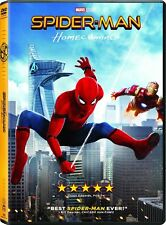 #4 SPIDER-MAN HOMECOMING Brand New DVD FREE SHIPPING